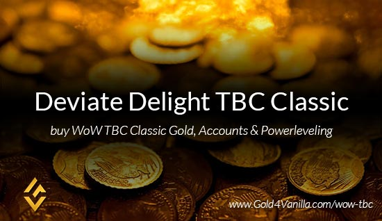 Deviate Delight TBC Classic US WoW TBC Classic Gold, Accounts & Powerleveling kaufen