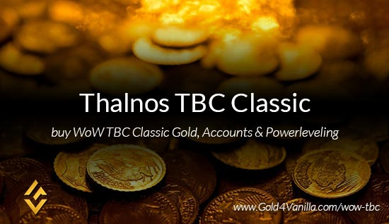 Thalnos TBC Classic US WoW TBC Classic Gold, Accounts & Powerleveling kaufen